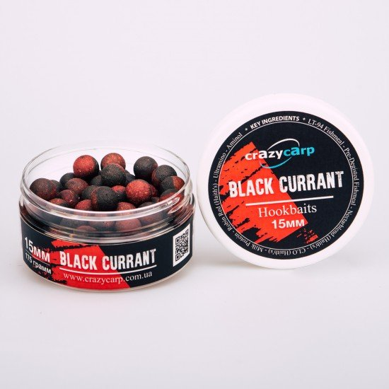 Black Currant: Hookbaits (насадочные)