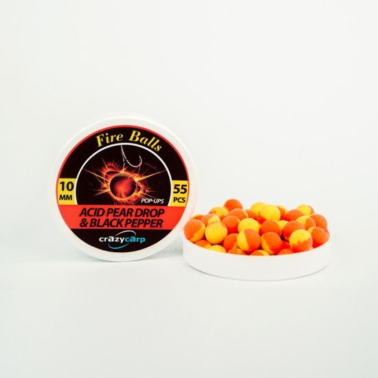 Acid Pear Drop & Black Pepper Pop-ups (10mm)