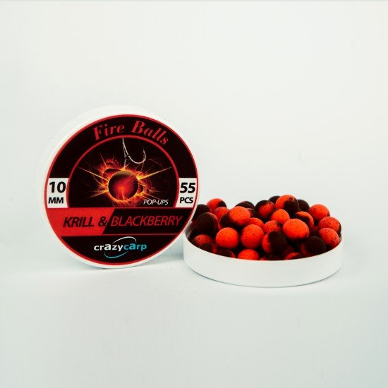 Krill & Blackberry Pop-ups (10mm)