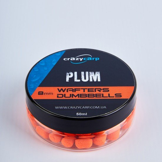 Plum Wafters Dumbells (8mm)