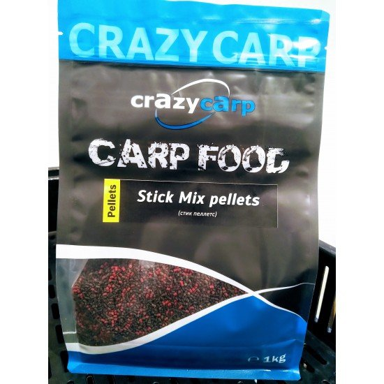 Crazy Carp Stick Mix pellets (1,5-2мм)