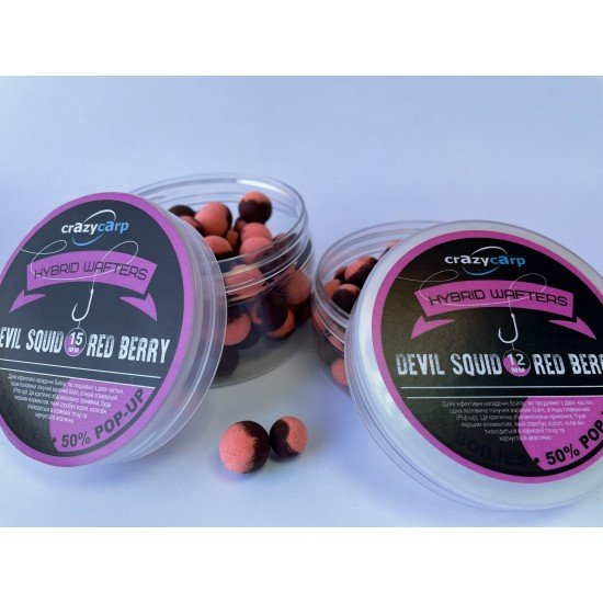 Devil Squid & Red Berry Hybrid Wafters