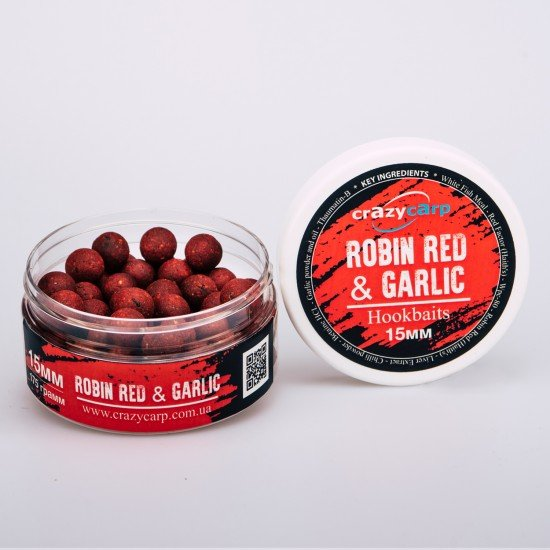 ​Robin Red® & Garlic: Hookbaits (насадочные)